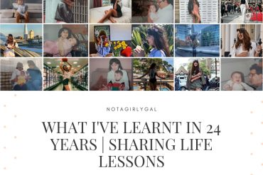 What I've learnt in 24 years | Sharing Life Lessons
