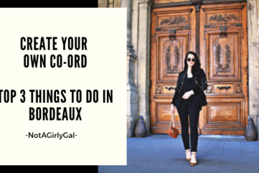 How to Create Your Own Co-Ord | Top 3 Things to Do in Bordeaux, France #SummerTrends