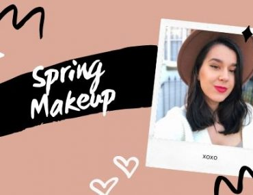 Spring Make-Up Look: Winged Liner Glam & Red Lip